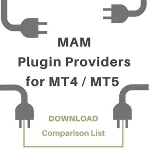 MAM Plugin Providers for MT4 and MT5Comparison List