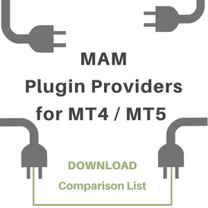 MAM Plugin Providers for MT4 and MT5Comparison List